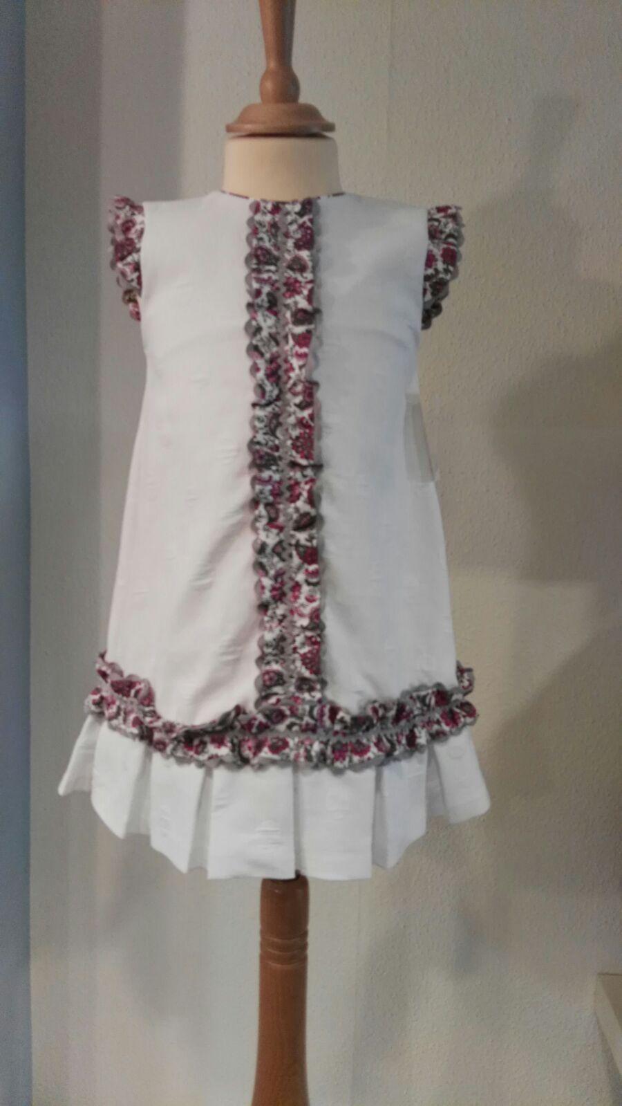 Vestido Artesanía Rosy